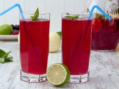 Лимонад из ягод