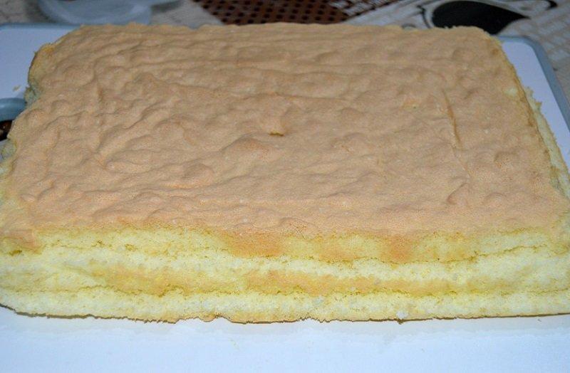коржы для пирожных
