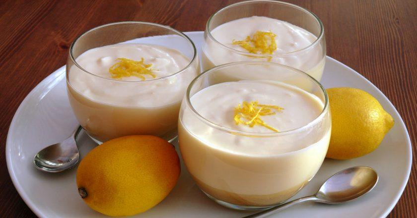 Лимонный мусс