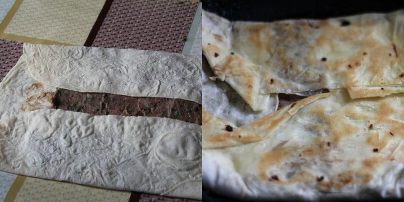 лобиани из лаваша