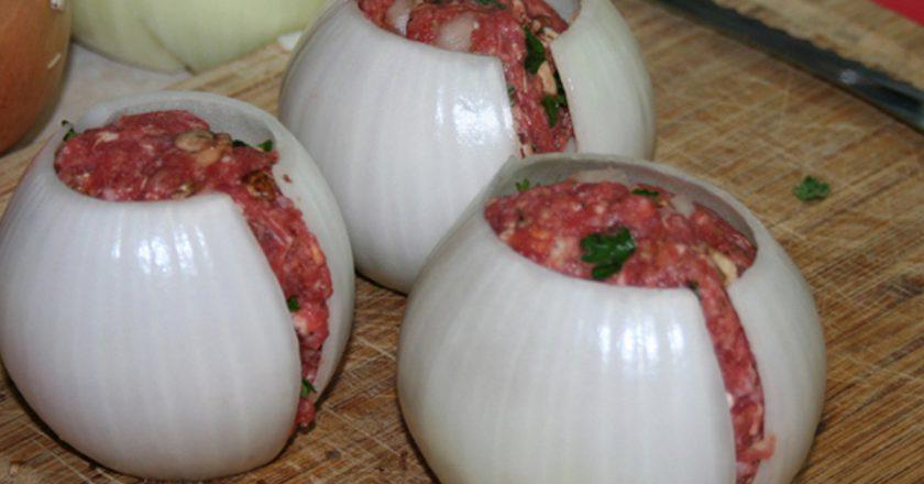 Луково-мясные мячики