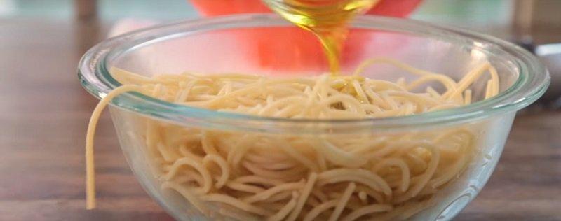 маффины из спагетти