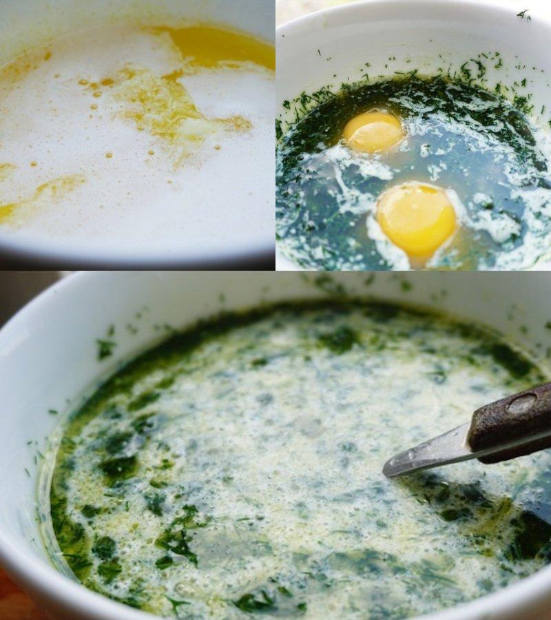 маффины с сыром и зеленью