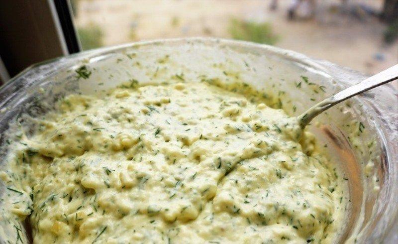 соленые маффины с сыром