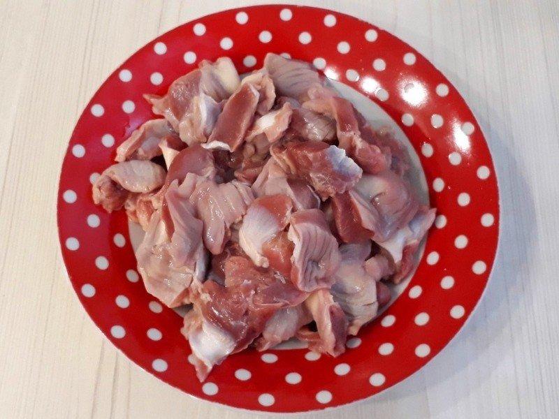 приготовить куриные желудки рецепт