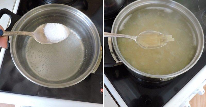 отварить макарон