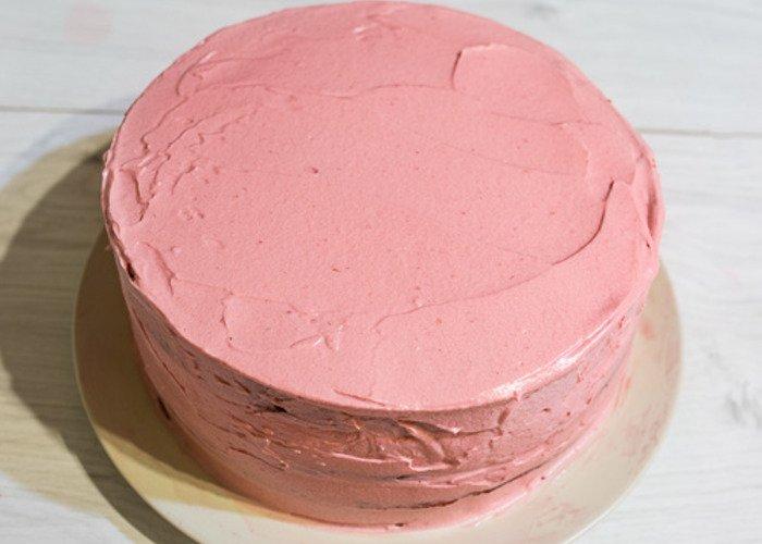 как собрать торт