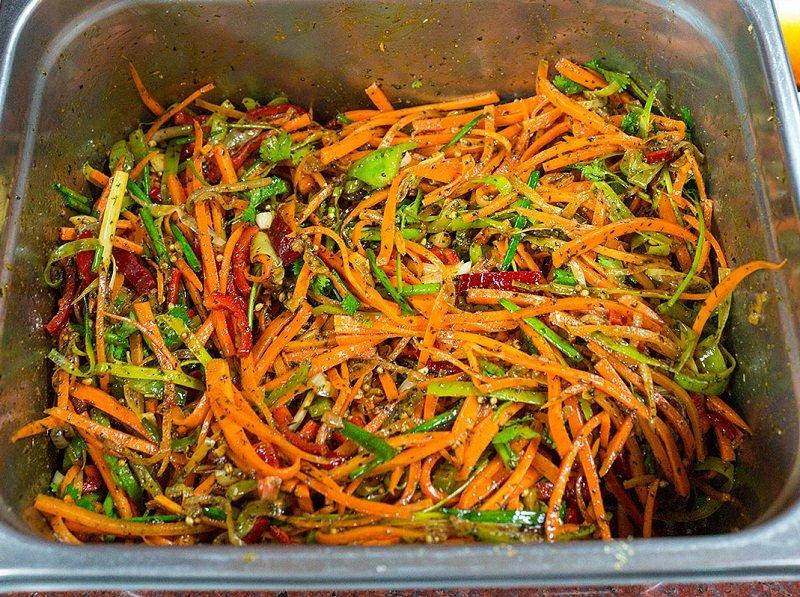 маринованные баклажаны с морковью