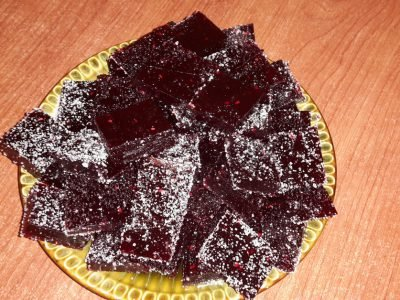 Мармелад из черноплодной рябины