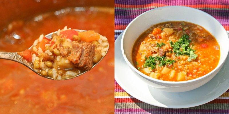 узбекский суп машхурда