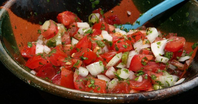 Мексиканская сальса «Пико-де-гайо»
