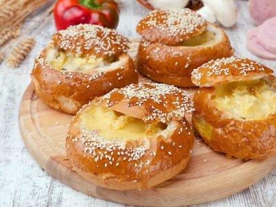 Мини-киши из булочек
