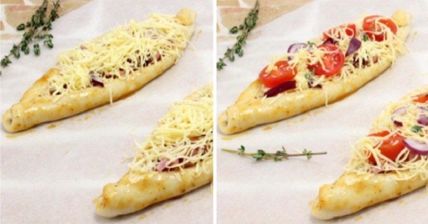 пицца-лодочка