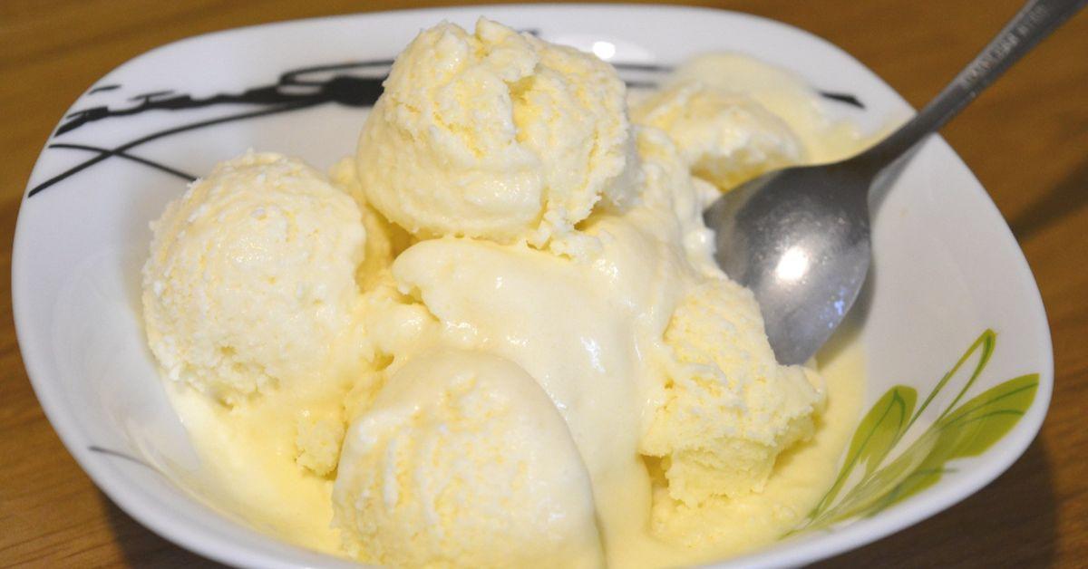 мороженое дынное