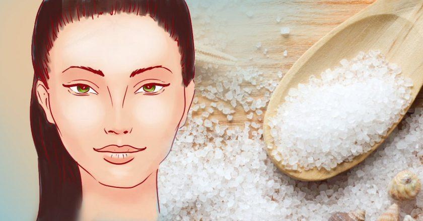 Морская соль для кожи лица