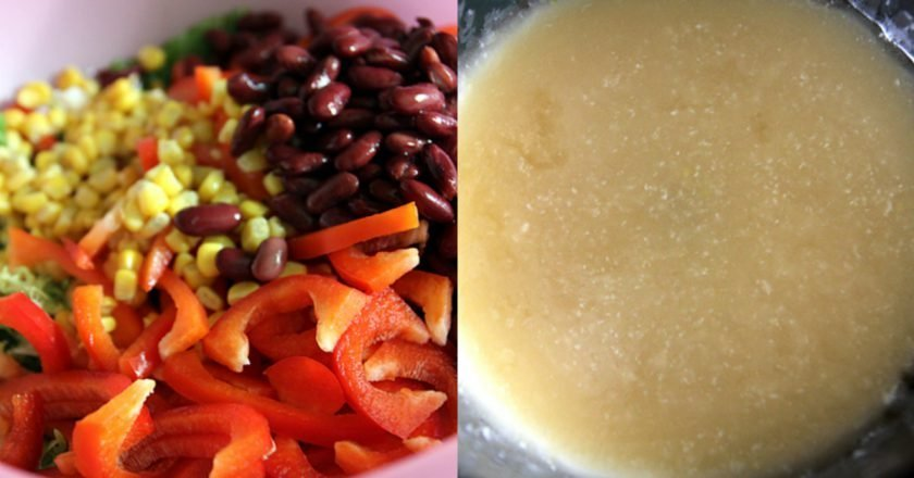 М'ясний салат - готуємо з покроковими фото