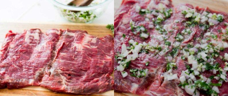 пласт мяса