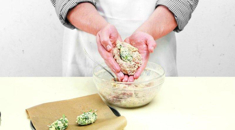 зразы с сыром и зеленью