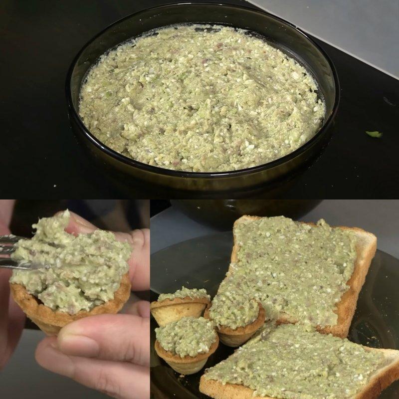 намазка для бутербродов из селедки