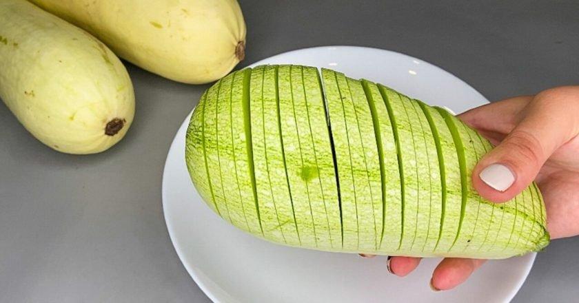 Намазка на хлеб из переросших кабачков