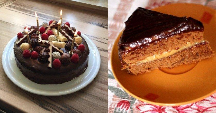 Неприличный торт