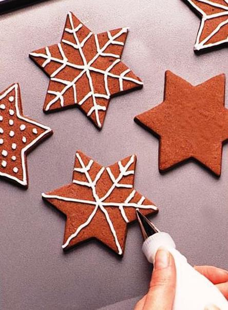 печенье снежинки рецепт