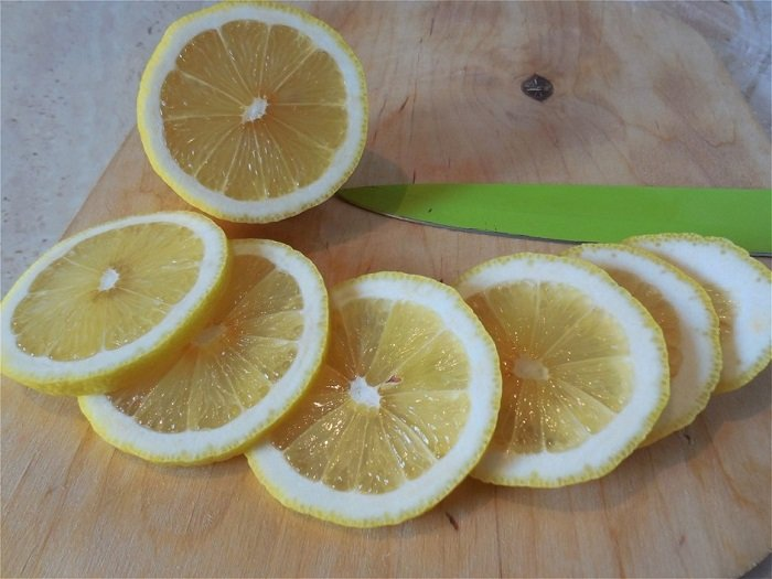 Okurky s citrónom