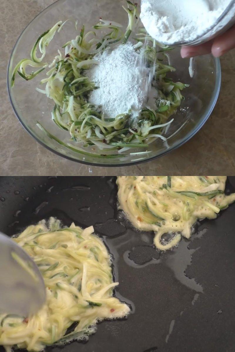 оладьи из кабачков для похудения