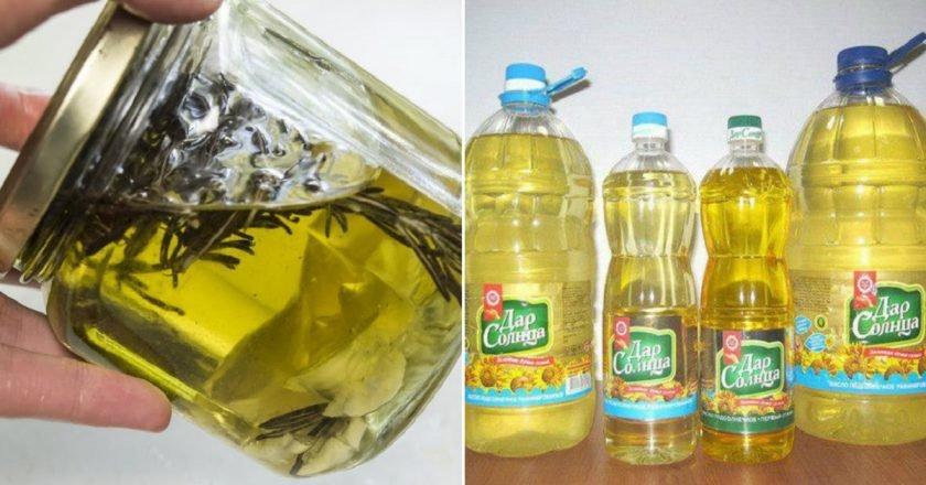 Оливковое масло с розмарином