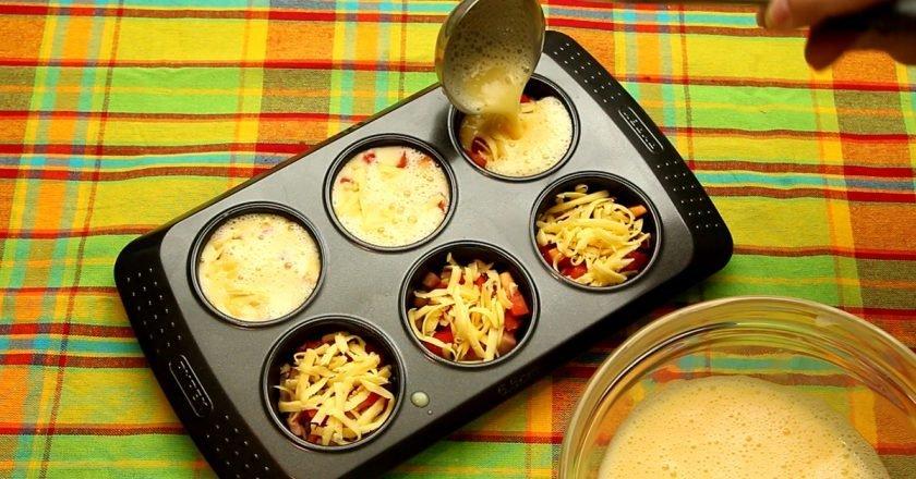 Рецепты в форме для маффинов