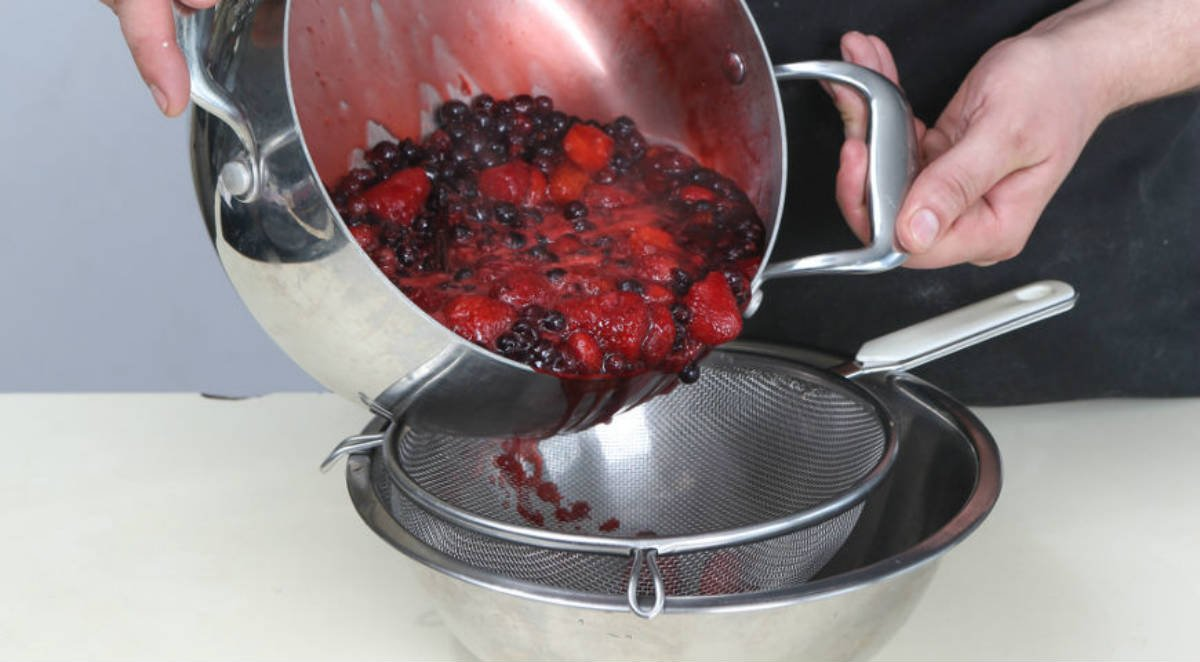 вареные ягоды