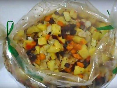 Овощное рагу «Винегрет»
