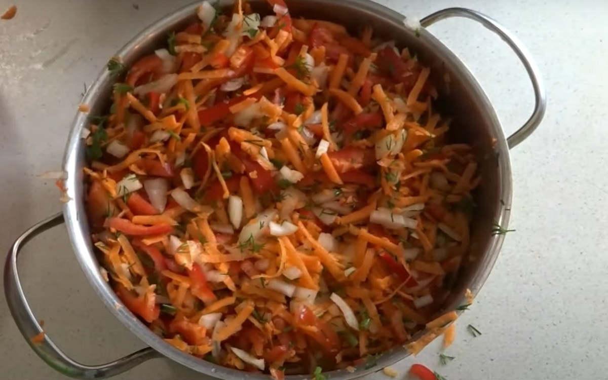 Овочевий набір для супу на зиму