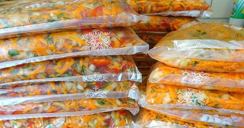 Овочевий набір для супу на зиму подивитися рецепт