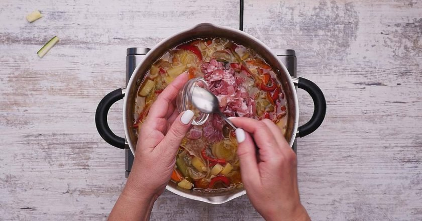 Овощной суп-рагу