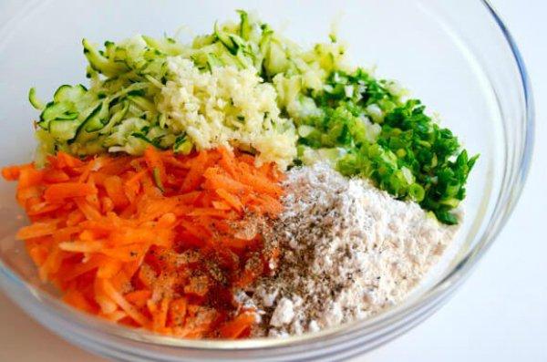 драники из овощей