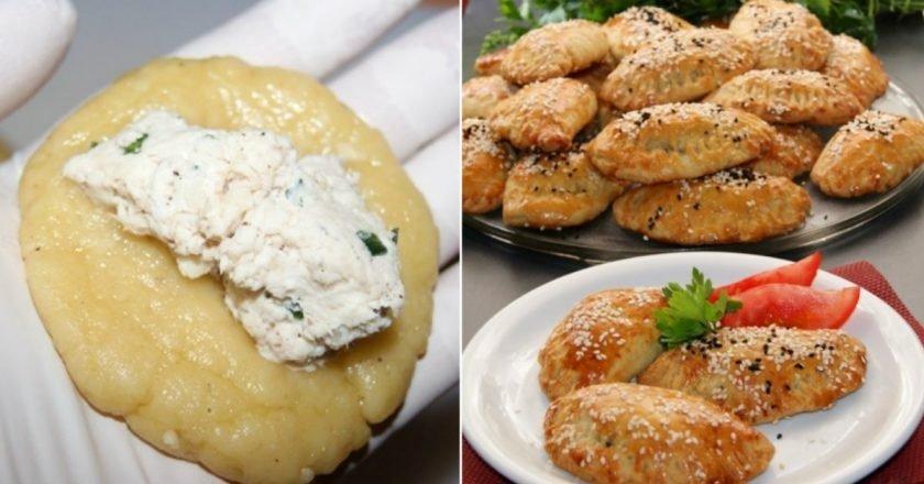 Грецькі пиріжки з куркою подивитися рецепт