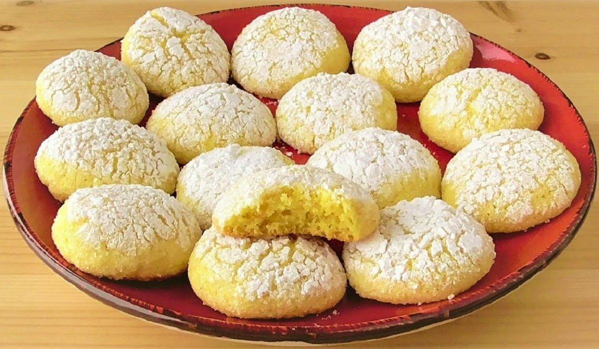 Печенье из манки - Со Вкусом