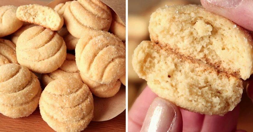 Мягкое печенье с мёдом