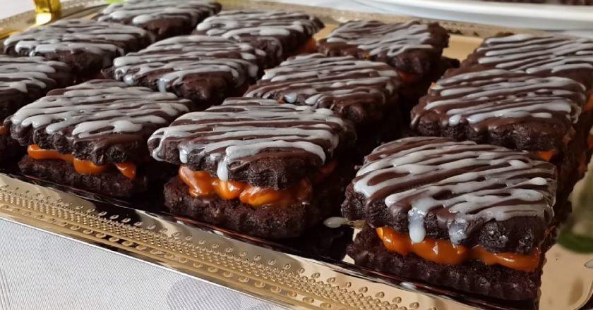 Печенье «Сникерс»