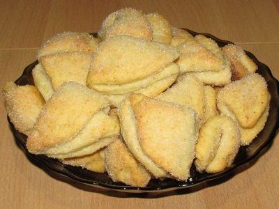 Печенье «Творожные треугольники»