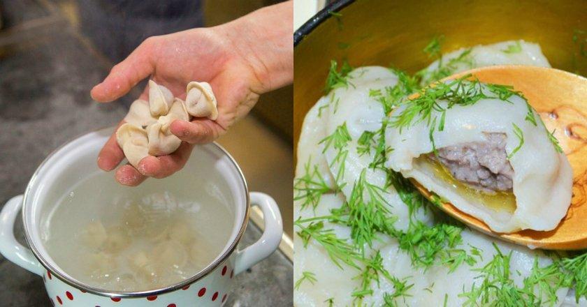 как правильно варить пельмени с бульоном