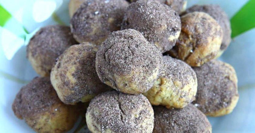 Песочное печенье с какао
