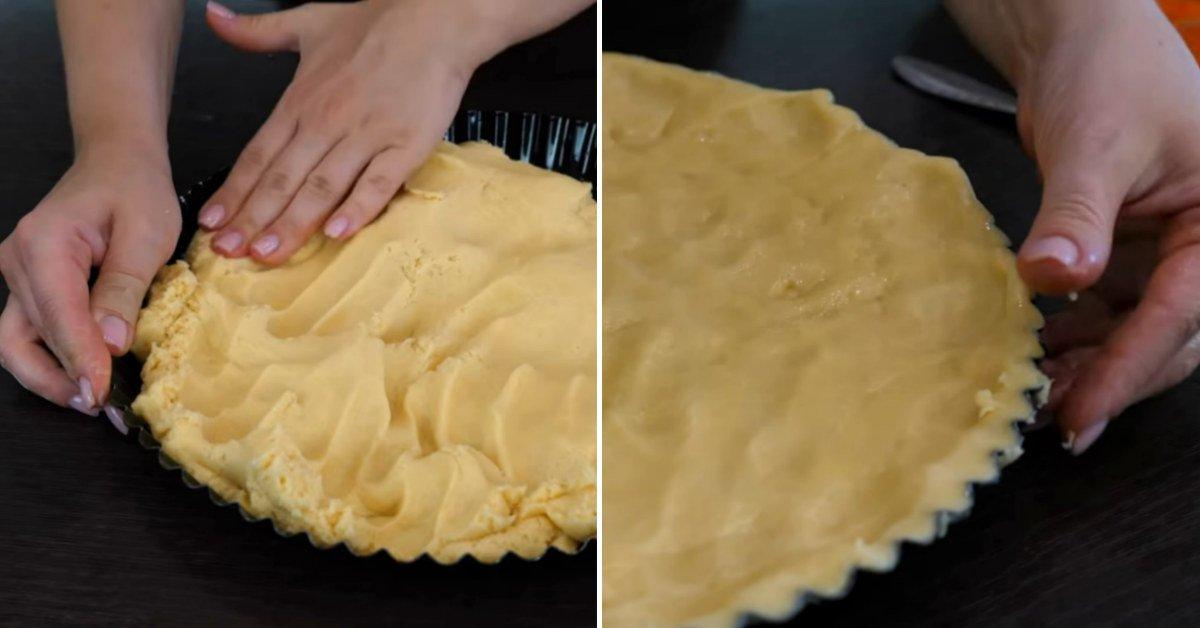 абрикосовый песочный пирог