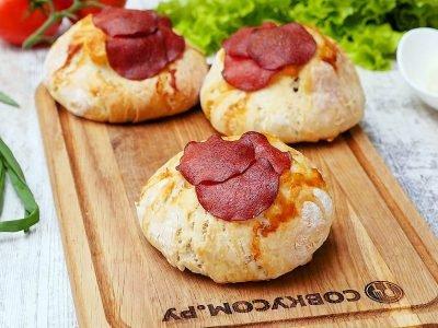 Пицца–бургер