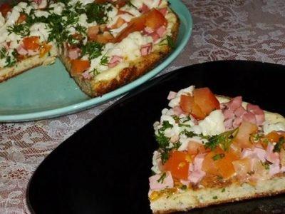 Пицца из хлеба