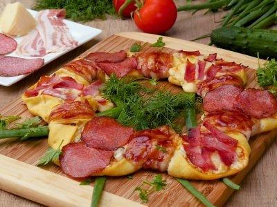 Пицца «Кольцо»