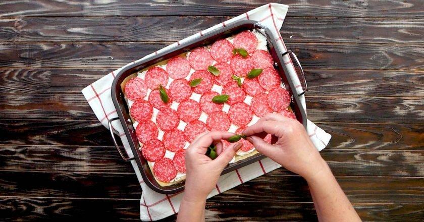 Дивовижна домашня піца-лазанья своїми руками подивитися рецепт