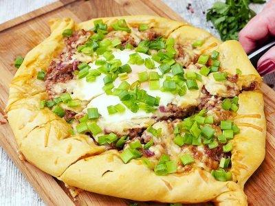 Пицца «Лодочка»