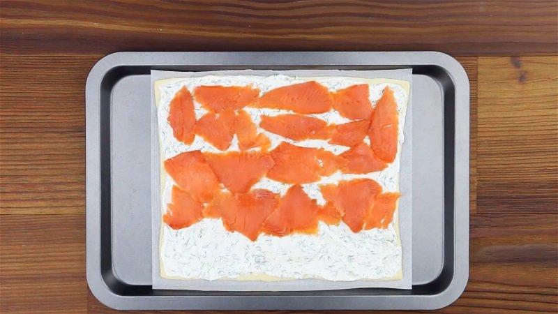 пицца-пирог с рыбой рецепт